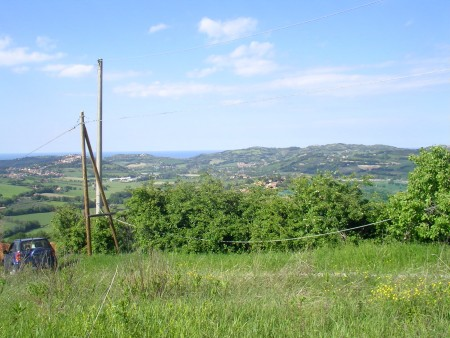 Building land for sale at Monteluro - City of Tavullia (PU)